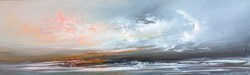 Turbulent Seas I by Philip Raskin -  sized 39x12 inches. Available from Whitewall Galleries